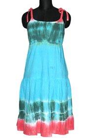 Girls Hand Tie Dyed Dress