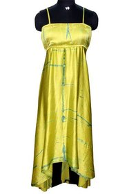 Fashionable Hand Tie Dyed Dress