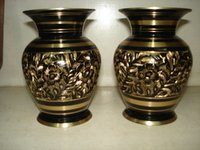Decorative Brass Flower Pot