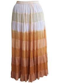 Panel Cotton Skirt 