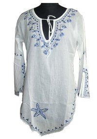 Designer Cotton Kaftan