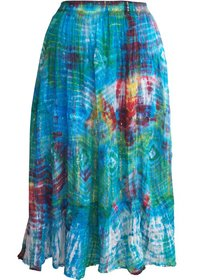 Tie-Dyed Women'S Skirts