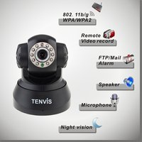 Night Vision 2 Way Audio Network Security Camera Wireless
