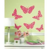 Velvet Butterflies Sticker