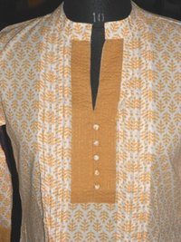 Cotton Hand Block Printed Kurti