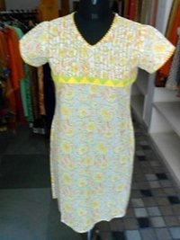 Cotton Hand Block Printed Kurta