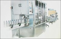 Servo Controlled Volumetric Filler With Automatic Screw Capping Machine