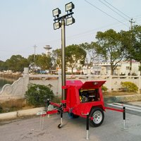 Construction Mobile Lighting Tower