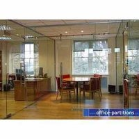 Decorative Glass Partition