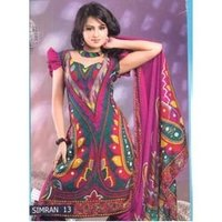 Printed Punjabi Suits