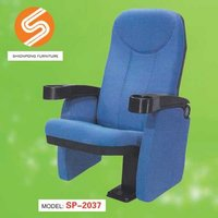 Folding Cinema Seating With Cup Holder