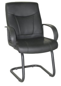 Faux Leather Sitting Room Chair