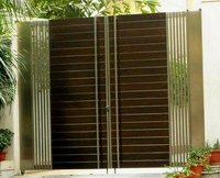 Stainless Steel Wood Gate