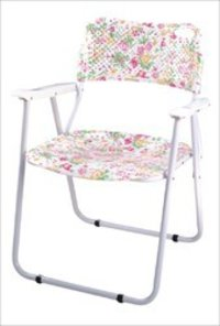 Folding Polypropylene Printed Chair