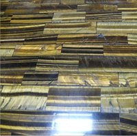 Tiger Eye Semi Precious Stone Wall Tile