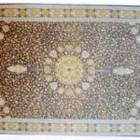 Printed Silk Carpet