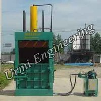 Press Plastic Scrap Baler