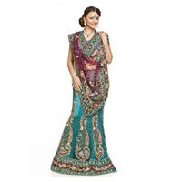 Tropical Green Lehenga Choli