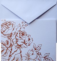Natural 1 Card And 1 Envelope