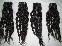 Machine Weft Indian Hair Extensions