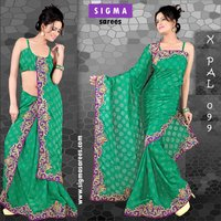 Embroidery Jacquard Sarees
