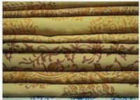 Natural Coloured Hand Block Printed Fabric
