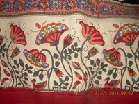Traditional Hand Block Printed Fabric