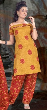 Fancy Cotton Salwar Suit