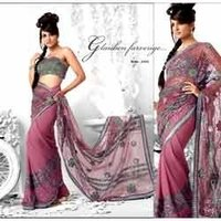 Stone Work Designer Saree