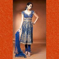 Heavy Embroidery Anarkali Suit