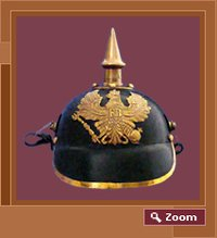Leather Russian Helmet
