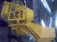 Hydraulic Concrete Mixture Machine