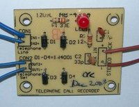 Telephone Call Recorder Circuit
