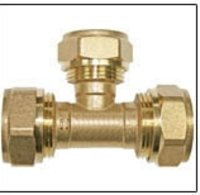 Brass Tee Pipe Fittings