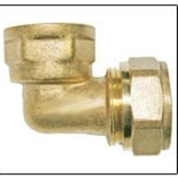 Brass Female Elbow Pipe Fittings