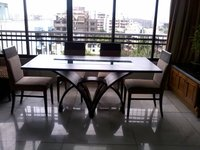Modern Wooden Dining Table With Chairs