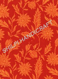 Natural Cotton Printed Fabrics