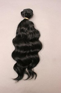 Natural Wavy Machine Weft Hair