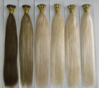 I-Tip-Pre Bonded Hair Extensions In Blonde