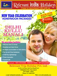 India Honeymoon Tours Packages