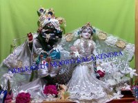Radha Krishna Iscon Statue