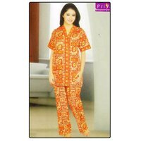Ladies Cotton Night Suit
