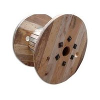 Wood Cable Drum