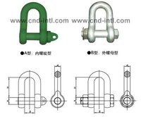 Us Type D-Steel Shackle