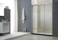 Three Sliding Shower Door T83