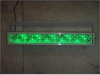 LED Facade Green Light