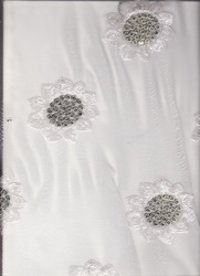 Best Quality Georgatte All Over Embroidery Fabric