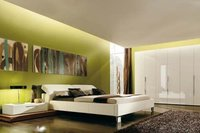 Fresh Green Bedroom Design Service