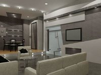 Interior Design Idea Of Living Room Service