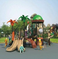 Wooden Playground Sliders